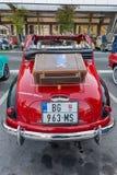 Vieille voiture italienne Fiat 500c Topolino image stock