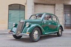 Vieille voiture italienne Lancia Ardea (1951) Photos stock