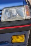 Vieille voiture : réflecteur traditionnel Images libres de droits