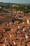 Vieille vue Florence de ville. Photographie stock