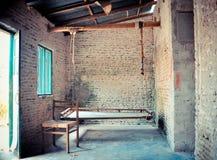 Vieille zone de séance de maison Image libre de droits