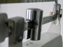 vieilles échelles russes de poids de vintage photo libre de droits