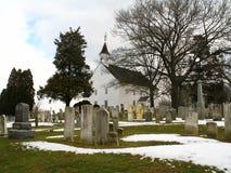 Vieilles église et chapelle de Tennent Photo libre de droits