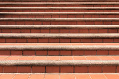 Vieilles étapes asiatiques de pierre de brique de style conception d'escaliers de bloc de fond de texture Photographie stock libre de droits