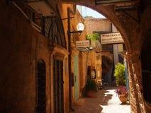 Vieilles allées dans Jaffa Image stock