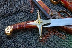 Vieilles armes Image libre de droits