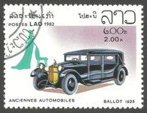 Vieilles automobiles, vote Photographie stock
