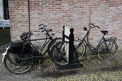 Vieilles bicyclettes Image stock