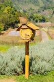 Vieilles boîtes aux lettres en bois Images libres de droits