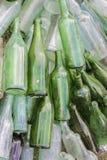 Vieilles bouteilles Image stock