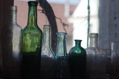Vieilles bouteilles de vintage Photographie stock libre de droits