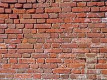 Vieilles briques écrasées modifiées Photos libres de droits