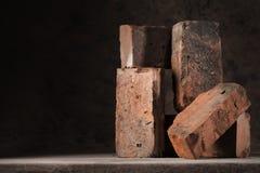 Vieilles briques Images libres de droits