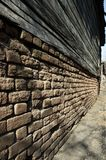 Vieilles briques Photos stock