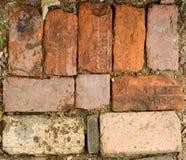 Vieilles briques photographie stock