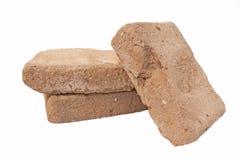 Vieilles briques d'adobe Image libre de droits