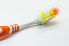 vieilles brosses à dents Image libre de droits
