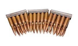 Vieilles cartouches de fusil Image stock