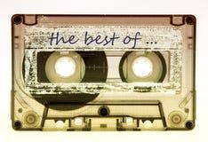 Vieilles cassettes de bande Photographie stock libre de droits