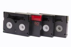 Vieilles cassettes vidéo Images stock