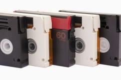 Vieilles cassettes vidéo Photos stock