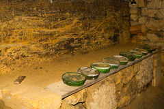 Vieilles catacombes Odessa Image libre de droits
