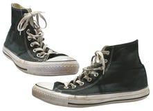 Vieilles chaussures Photo libre de droits