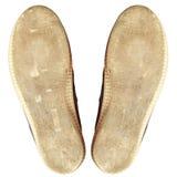 Vieilles chaussures d'occasion Image libre de droits