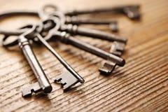 Vieilles clés Photos libres de droits