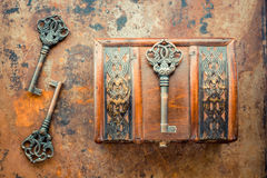 Vieilles clés Images stock