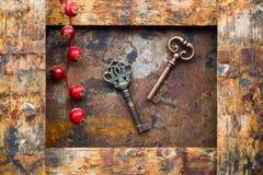 Vieilles clés Image libre de droits