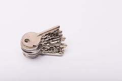 Vieilles clés Photo stock