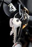 Vieilles clés de véhicule Image stock