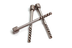 Vieilles clés en métal pour le garage Photo libre de droits