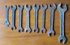 Vieilles clés rouillées Photographie stock libre de droits
