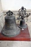 Vieilles cloches d'église Photos libres de droits