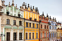 Vieilles constructions de ville image libre de droits