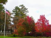 Vieilles couleurs de gloire avec la beauté de l'automne photo stock