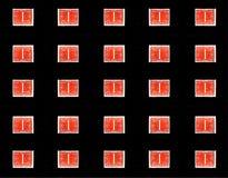 Vieilles estampilles de Néerlandais Images libres de droits