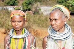 Vieilles femmes tribales de Bonda Photo stock