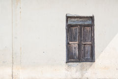 Vieilles fenêtres Image stock