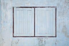 Vieilles fenêtres. Images libres de droits