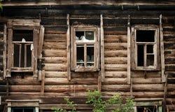 Vieilles fenêtres Image libre de droits