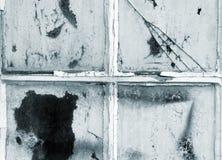 Vieilles fenêtres de porte Image libre de droits