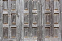 Vieilles fenêtres en bois Images stock
