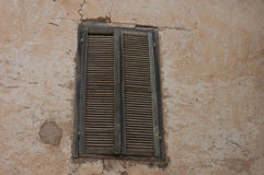Vieilles fenêtres marocaines de berbers Photos libres de droits