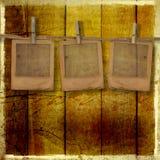 Vieilles glissières de grunge illustration stock
