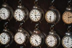 Vieilles horloges Photos stock