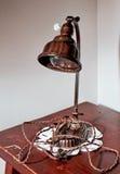 Vieilles lampes Image libre de droits