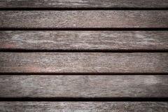 Vieilles lattes rouges en bois de fond Photographie stock